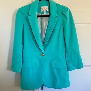 Blue/Turquoise Jacket from Dynamite